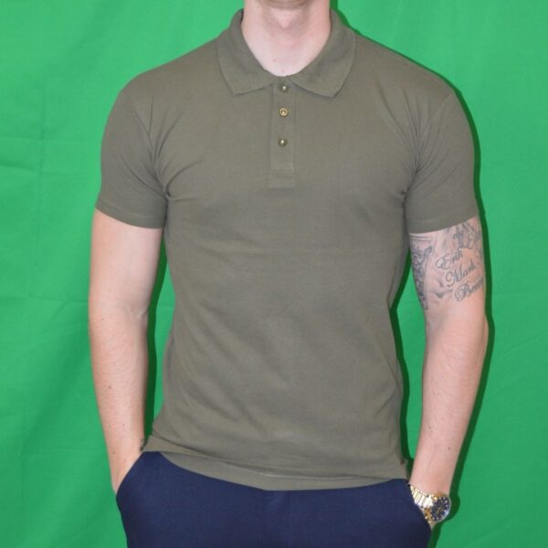 Xtreme Stretch Poloshirt Army Groen