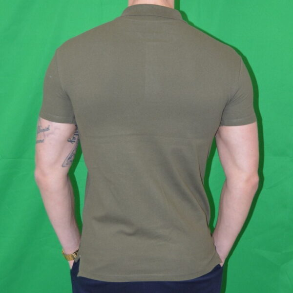 Xtreme Stretch Poloshirt Army Groen Polo Tshirt