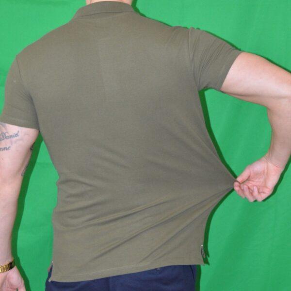 Xtreme Stretch Poloshirt Army Groen Tshirt Polo