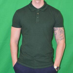 Xtreme Stretch Poloshirt Moerke Groen