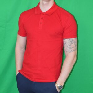 Xtreme Stretch Poloshirt Roed