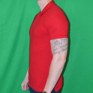 Xtreme Stretch Poloshirt Roed Tshirt
