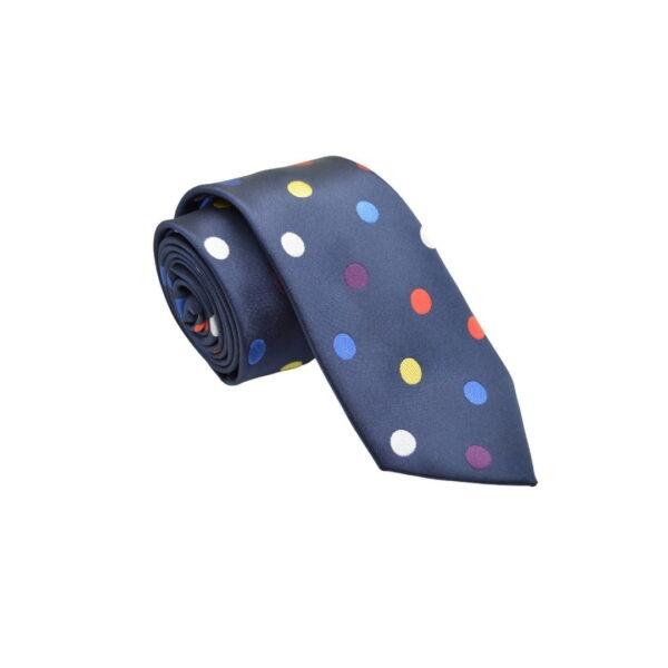 Flerfarvet-prikket-slips-1