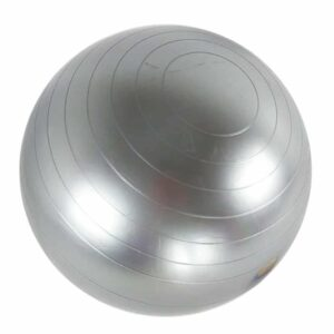 Yoga-bold-graa-45-cm