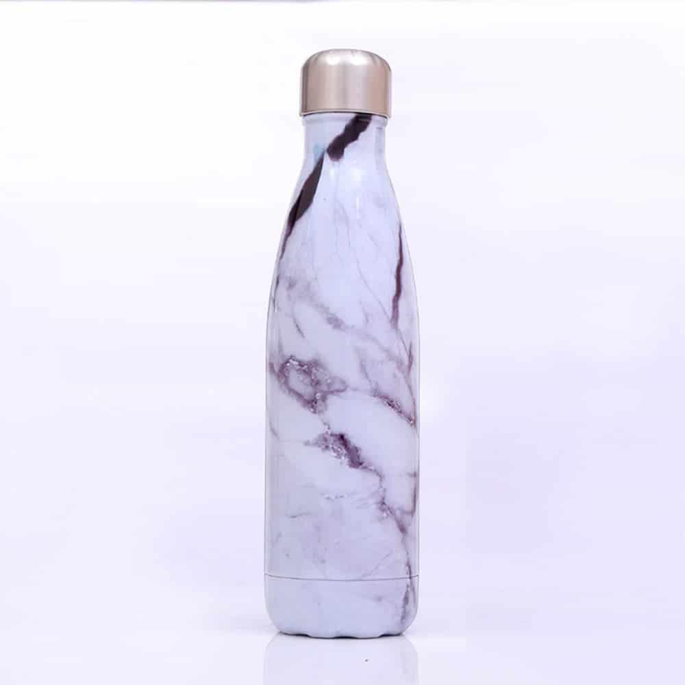 Termoflaske Marmor Hvid