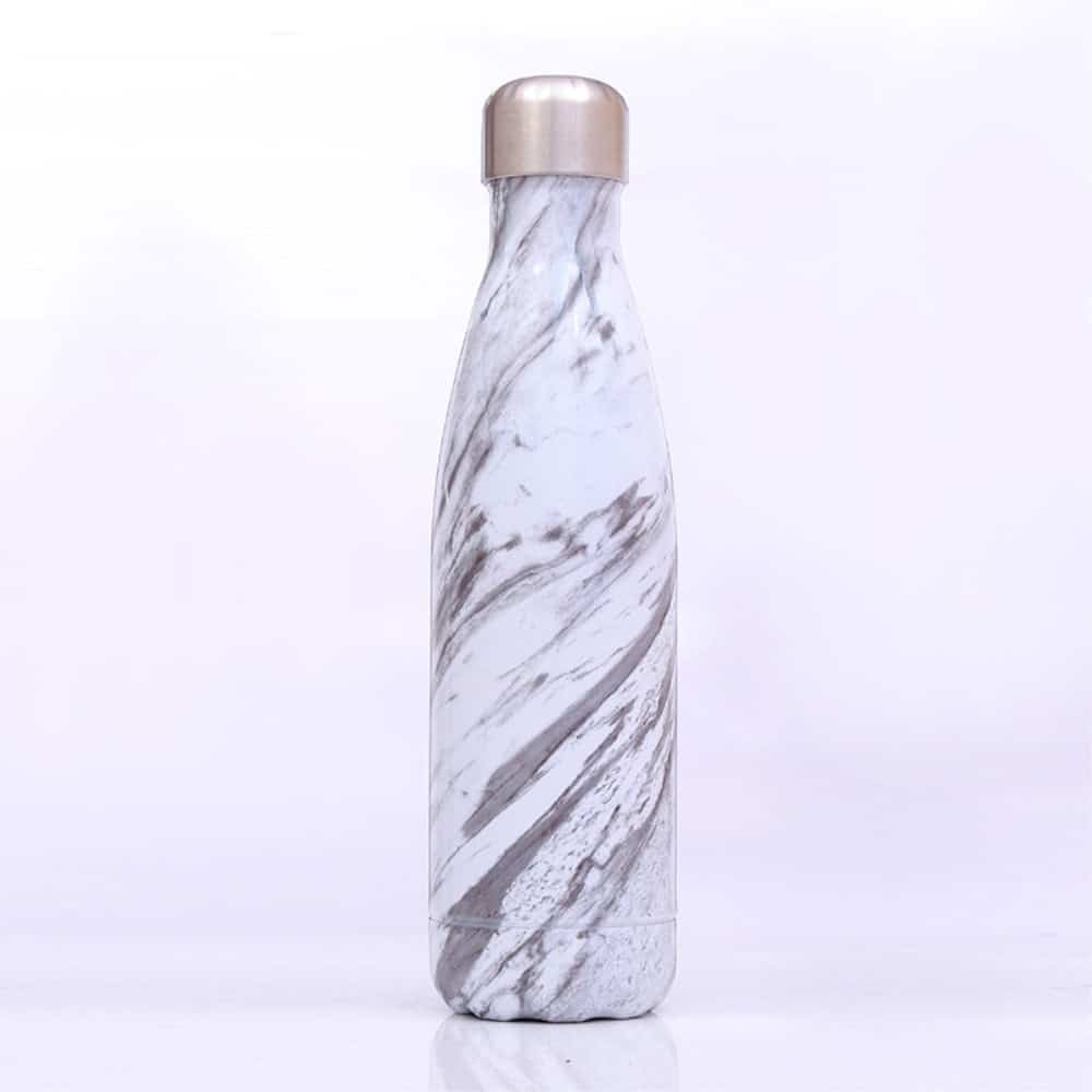 Termoflaske Marmor Look Zebra
