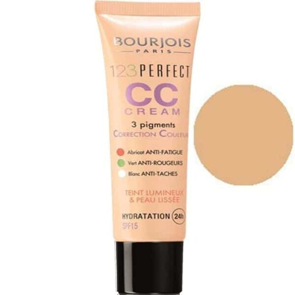 Bourjois 123 Perfect CC Cream Beige Rose 1
