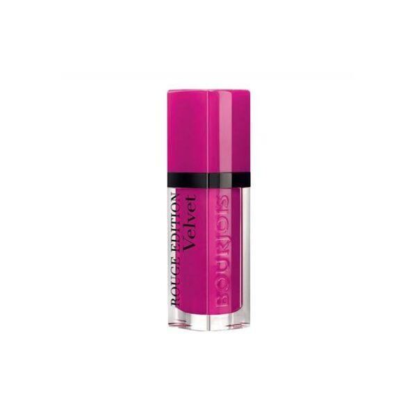 Bourjois Rouge Edition Velvet Lipstick 06 Pink Pong 1