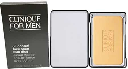 Clinique For Men Oil Control Face Soap With Dish 150g 1
