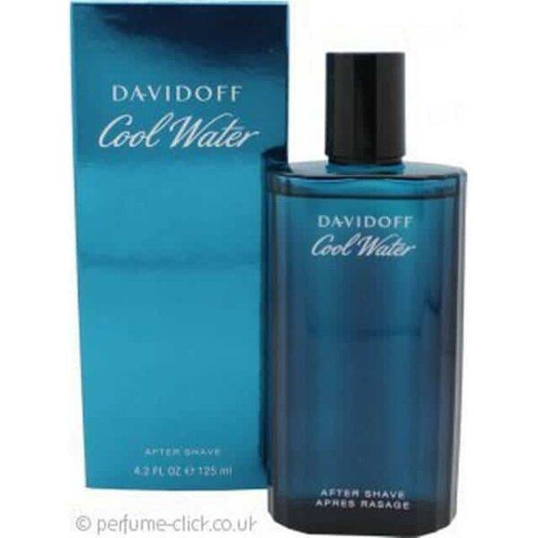 Davidoff Cool Water Aftershave Splash 125ml 1
