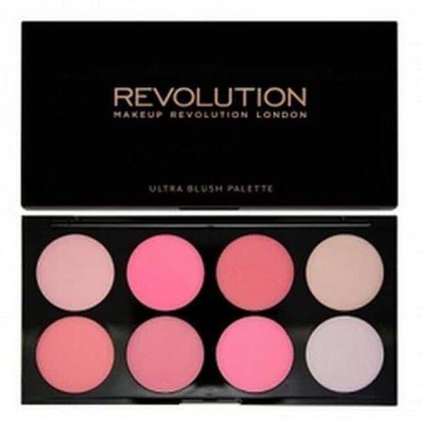Makeup Revolution Blush Palette All About Pink 1