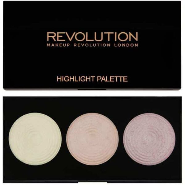 Makeup Revolution Highlighter Palette Highlight 1