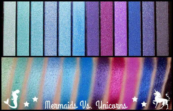 Makeup Revolution Redemption Palette Mermaids VS Unicorns 1