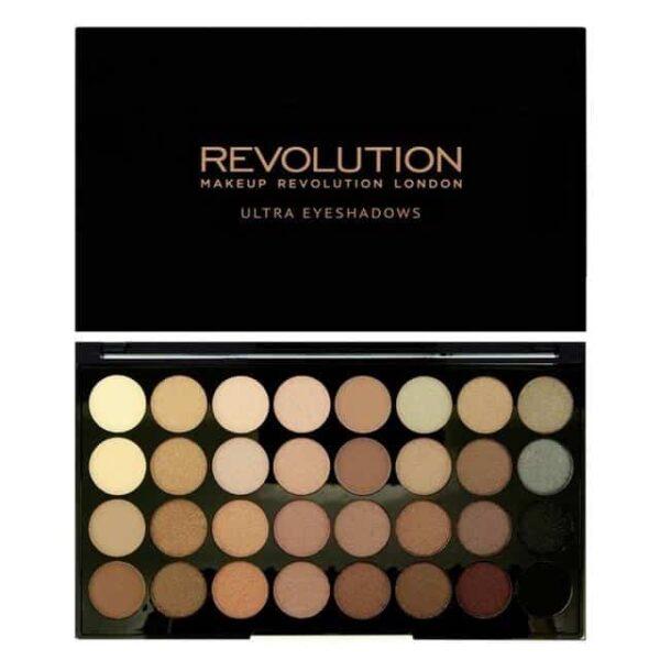 Makeup Revolution Ultra 32 Shade Eyeshadow Palette Beyond Flawless 1