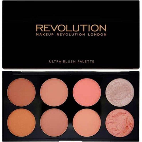 Makeup Revolution Ultra Blush Contour Palette Hot Spice 1
