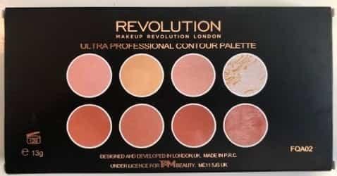 Makeup Revolution Ultra Professional Contour Palette 1