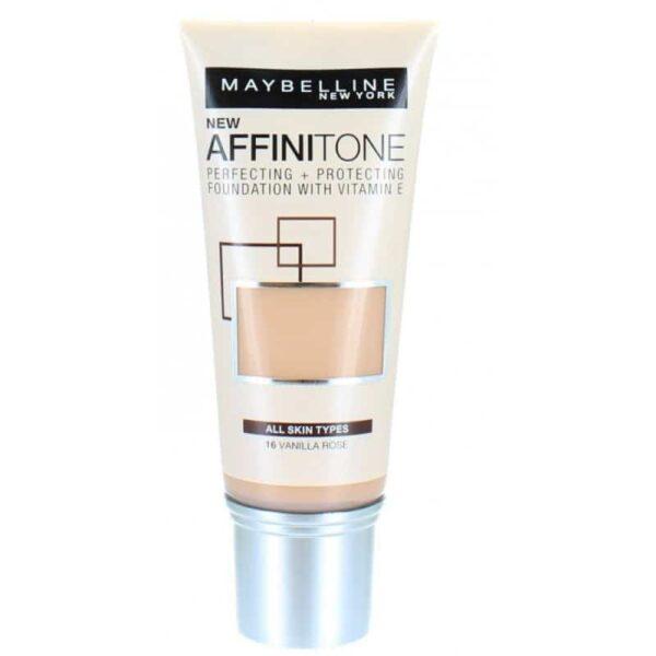 Maybelline Affinitone Foundation 16 Vanilla Rose 30ml 1