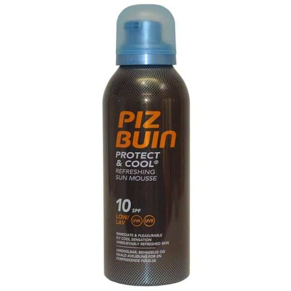Piz Buin Protect Cool Refreshing Sun Mousse SPF10 150ml 1
