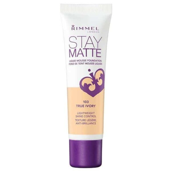 Rimmel Stay Matte Liquid Mousse Foundation 103 True Ivory 1
