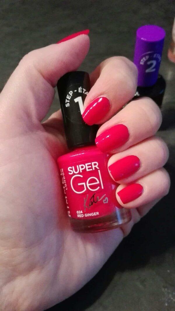 Rimmel Super Gel Neglelak 024 Red Ginger 1