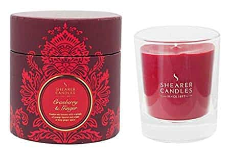Shearer Candles Cranberry & Ginger 1