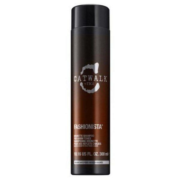 Tigi Fashionista Brunette Shampoo 300ml 1