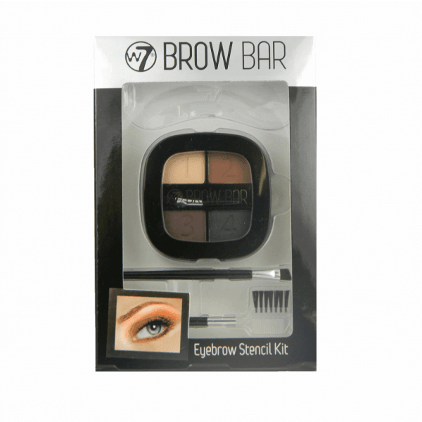W7 Brow Bar Eyebrow Stencil Kit 1