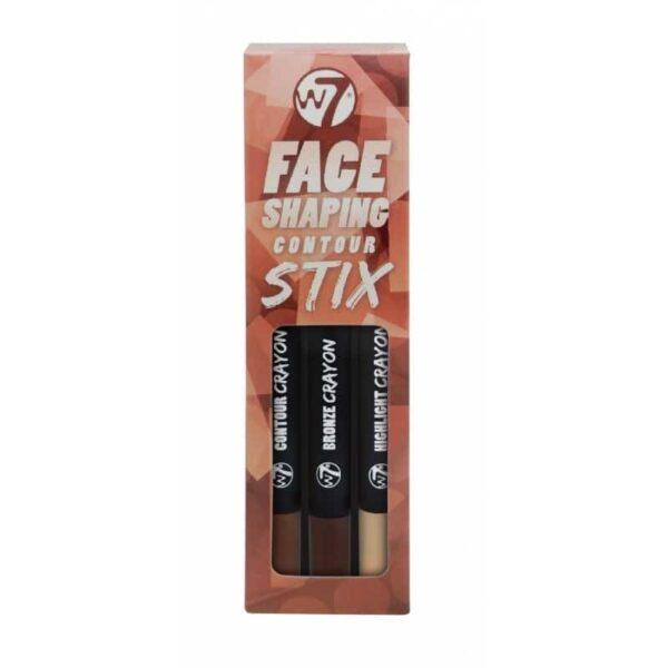 W7 Face Shaping Contour Sticks Big 1