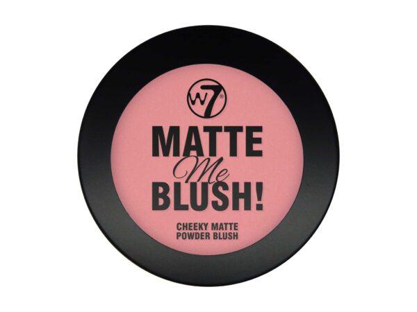 W7 Matte Me Blush On The Edge 1