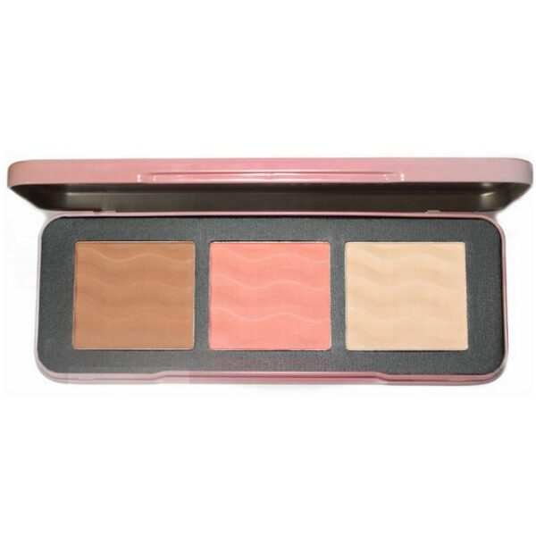 W7 Cosmetics The Cheeky Trio Face Palette 1