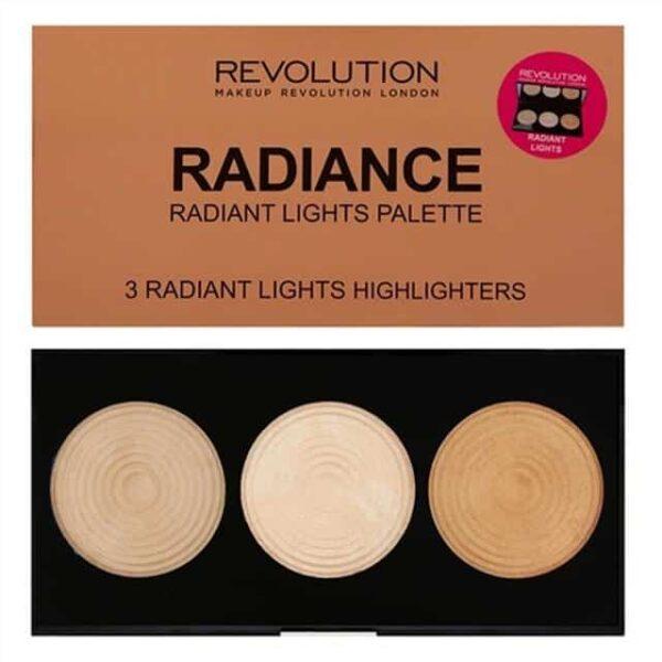 Makeup Revolution Highlighter Palette Radiance 1
