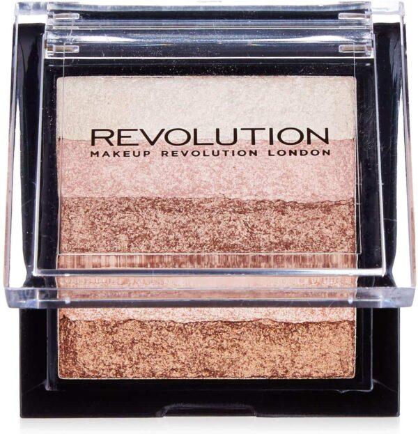 Makeup Revolution Shimmer Brick Radiant 1