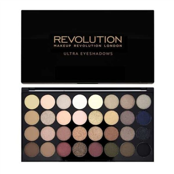 Makeup Revolution Ultra 32 Shade Eyeshadow Palette Flawless 1